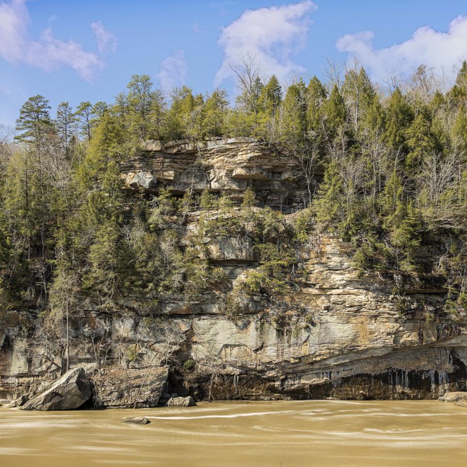 Cumberland River - Cumberland Falls State Park - Corbin, KY