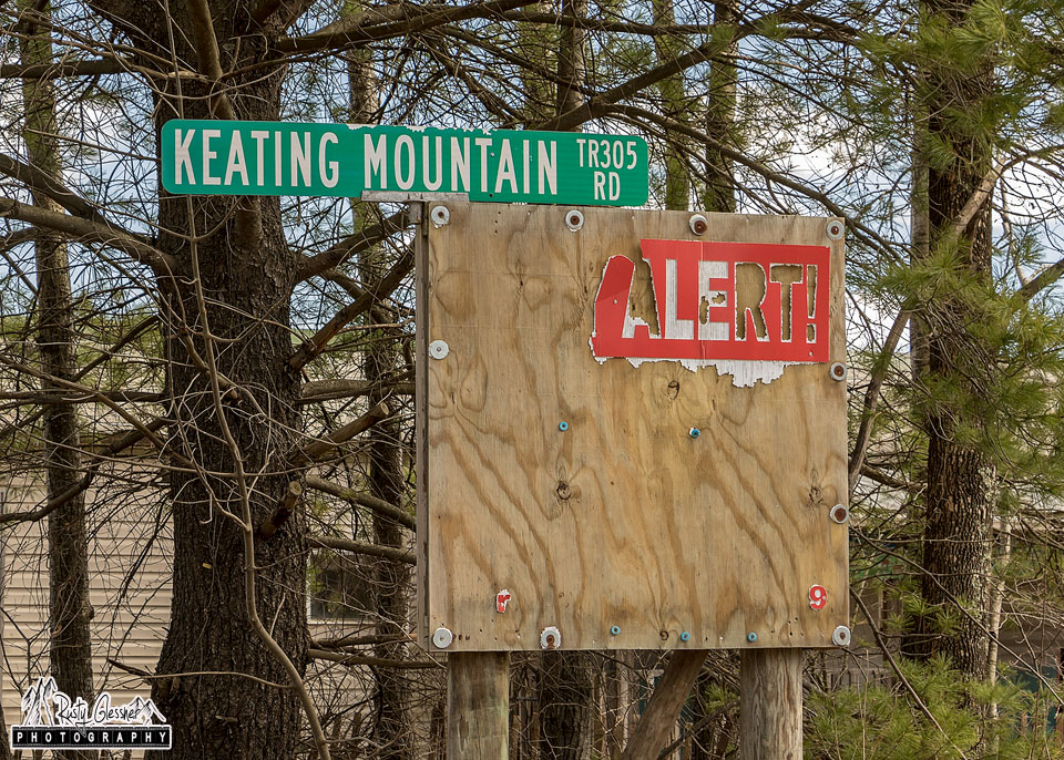 Keating Mountain Road