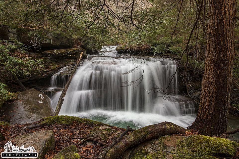 Lower Jonathan Run Falls, Ohiopyle State Park, Fayette County, PA - 3.21.2017