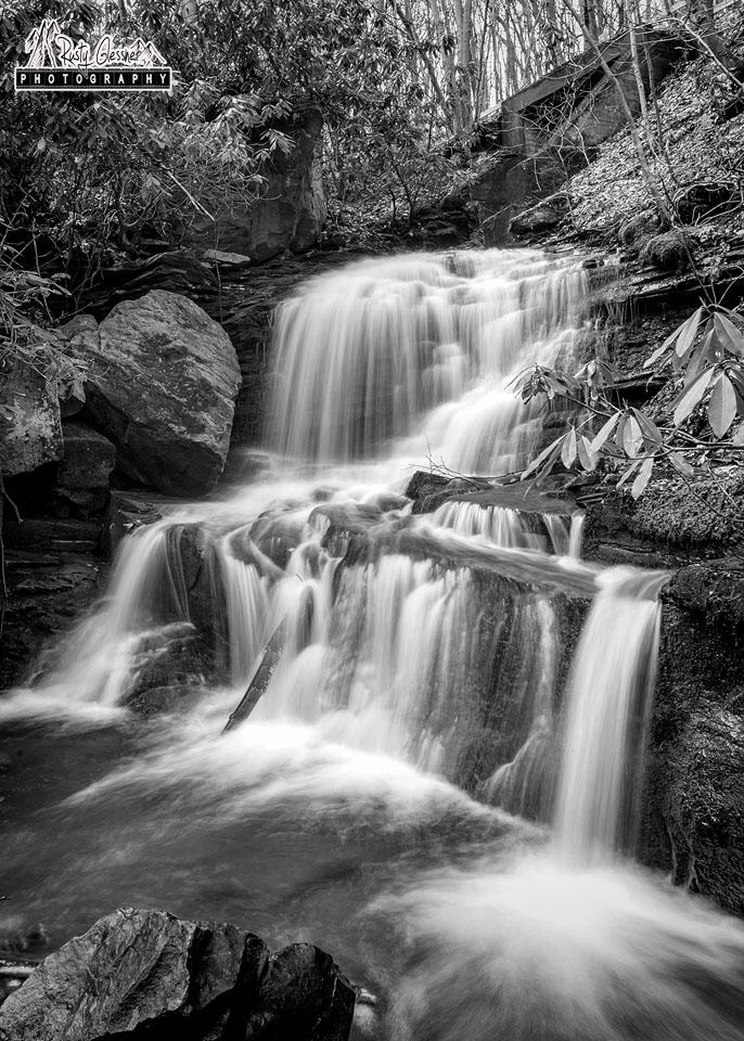 Lower Sugar Run Falls, Ohiopyle State Park, Fayette County, PA - 3.21.2017