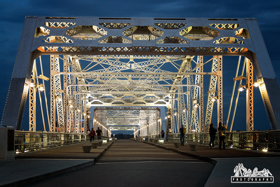 Shelby Pedestrian Bridge - Nashville, TN - March 2017