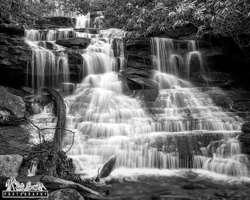 Sugar Run Falls, Ohiopyle State Park, Fayette County, PA - 3.21.2017