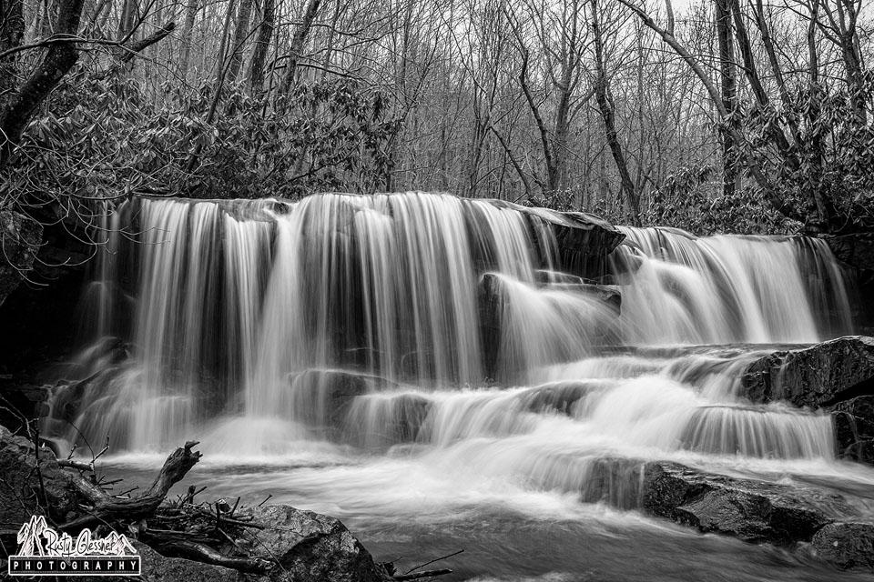 Upper Jonathan Run Falls, Ohiopyle State Park, Fayette County, PA  - 3.21.2017