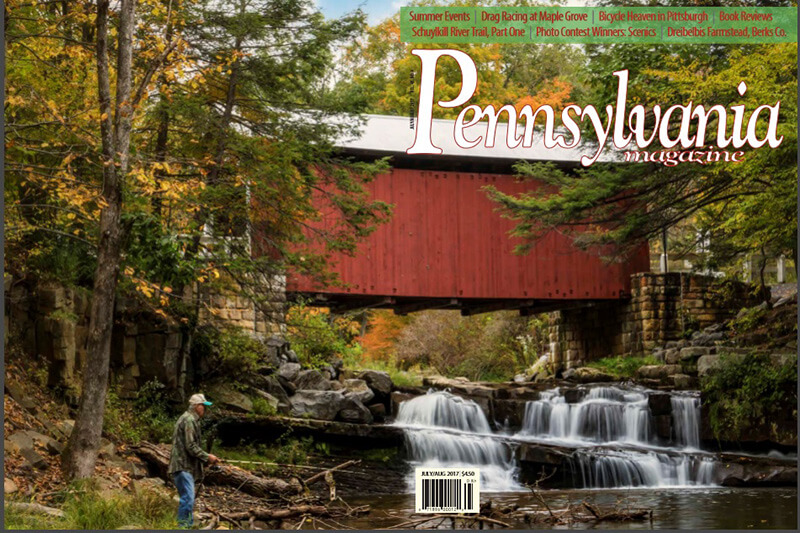 July/August 2017 Pennsylvania Magazine Cover - Photo by Rusty Glessner