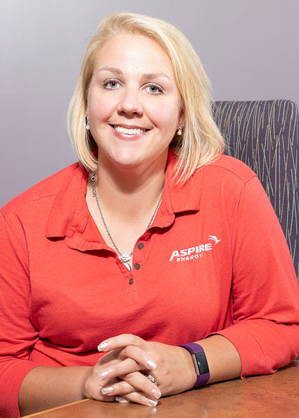 A corporate headshot for Aspire Energy by State College portrait photographer Rusty Glessner