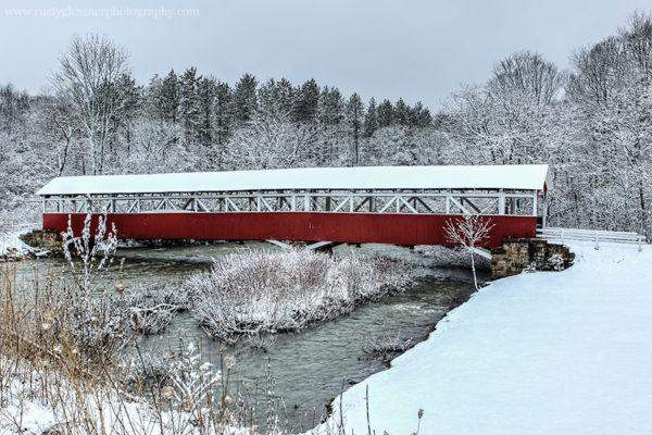 Barronvale Covered Bridge, Somerset County, PA.