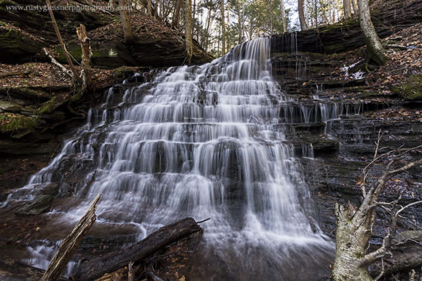Bear Run Falls #3, upper tier, Colton Point State Park, Tioga County