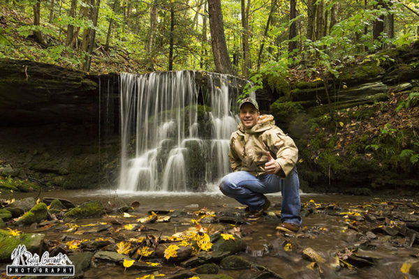 Selfie at Bear Run, Tioga County, PA