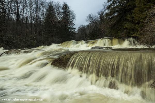 Cascades Falls, Ohiopyle State Park, 3.11.2015