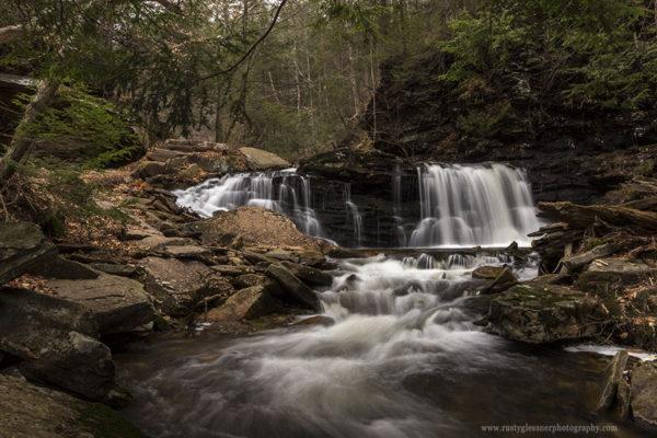 Cayuga Falls, Ricketts Glen State Park