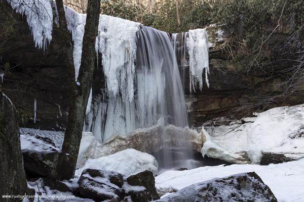 Cucumber Falls, Ohiopyle State Park. Photographed 1.23.2015.