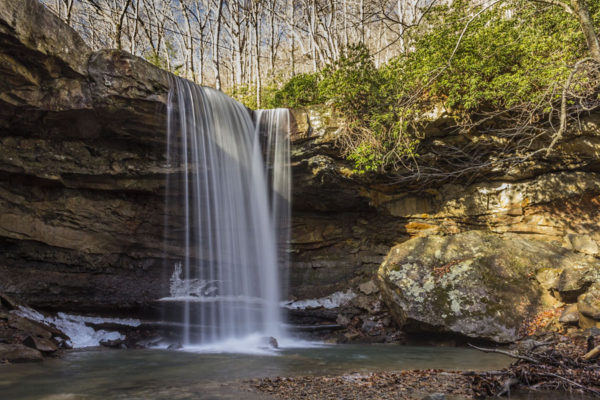 Cucumber Falls, Ohiopyle State Park, Fayette County, PA.