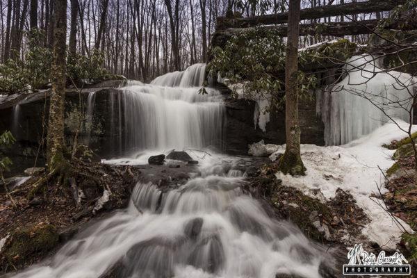 Fechter Run Falls, Fayette County, PA