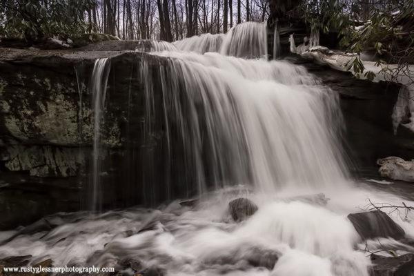 Fechter Run Falls, Ohiopyle State Park, 3.11.2015