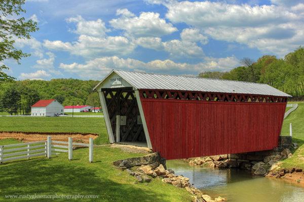 Harmon Covered Bridge, Indiana County, PA.
