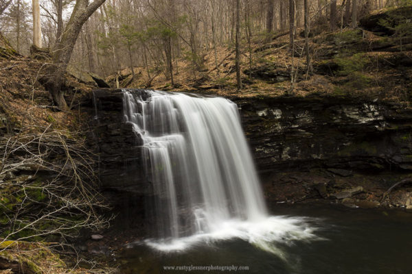 Harrison Wrights Falls, Ricketts Glen State Park