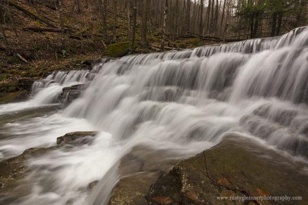 Hounds Run Splash Dam.
