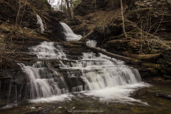 Huron Falls, Ricketts Glen State Park