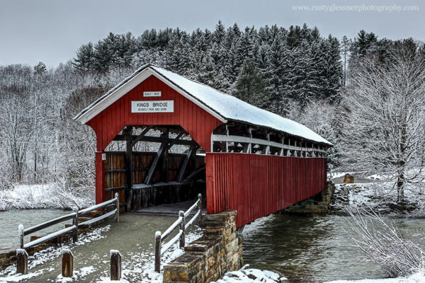 Kings Covered Bridge, Somerset County, PA.