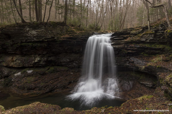 Lewis Falls, Herberly Run, State Game Lands 13, Sullivan County, PA.
