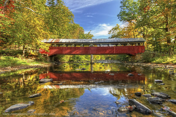 Lower Humbert Covered Bridge, Somerset County, PA.