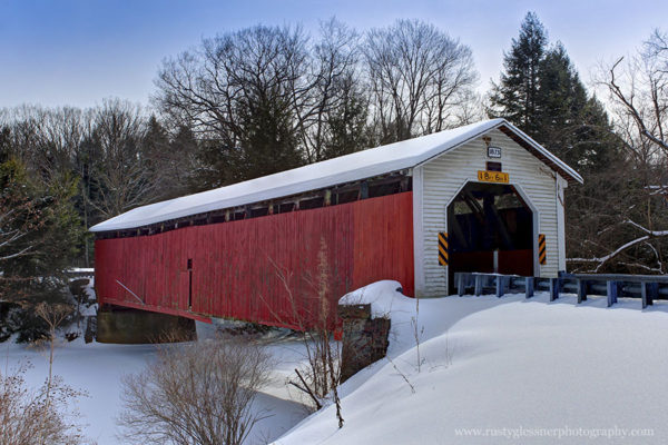 McGees Mill Covered Bridge, Clearfield County, PA.