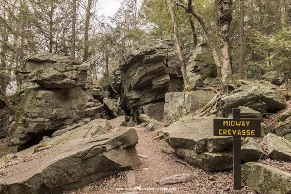 Midway Crevasse, Ricketts Glen State Park
