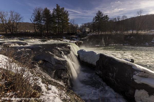 Ohiopyle Falls, Ohiopyle State Park, photographed 1.23.2015.