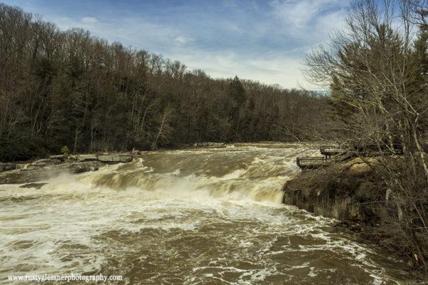 Ohiopyle Falls, Ohiopyle State Park, 3.11.2015