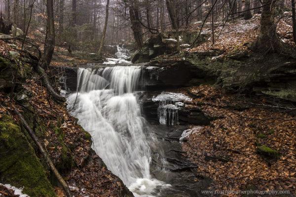 Pigeon Run Falls #1, SGL 13, Sullivan County, PA