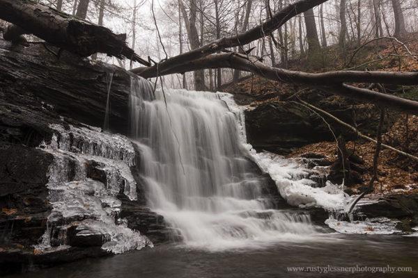 Pigeon Run Falls #3, SGL 13, Sullivan County, PA