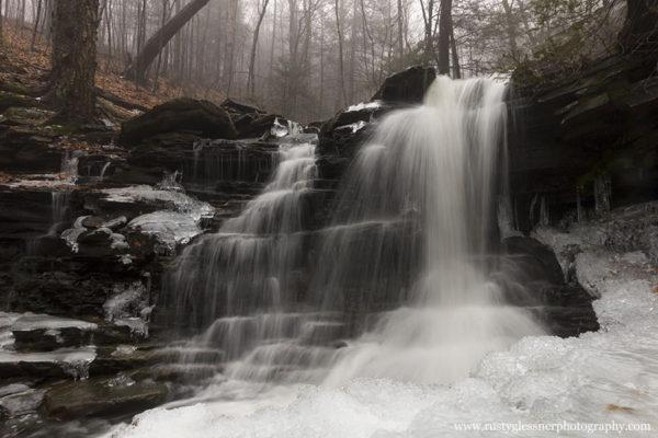 Pigeon Run Falls #4, SGL 13, Sullivan County, PA