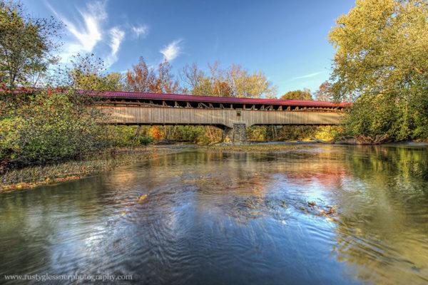 Academia/Pomeroy Covered Bridge, Juniata County, PA.
