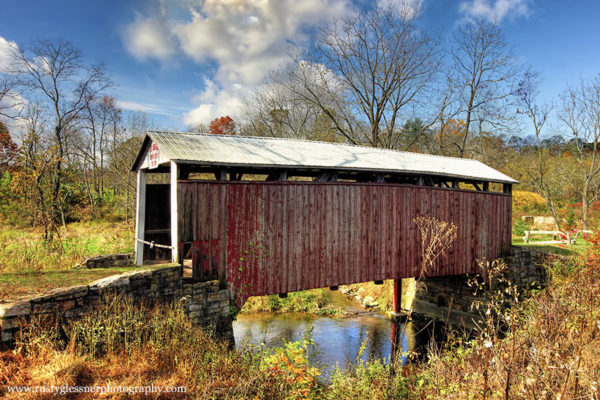 Red Covered Bridge, Perry County, PA.