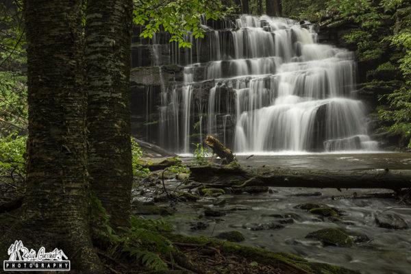 Rosecrans Falls, Clinton County, PA