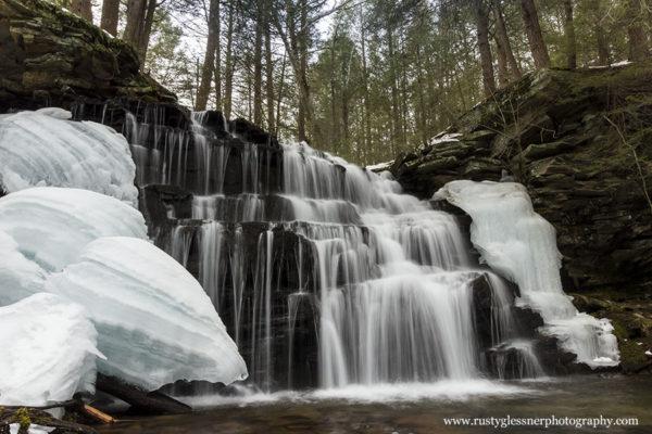 Rosecrans Falls, Clinton County, PA.