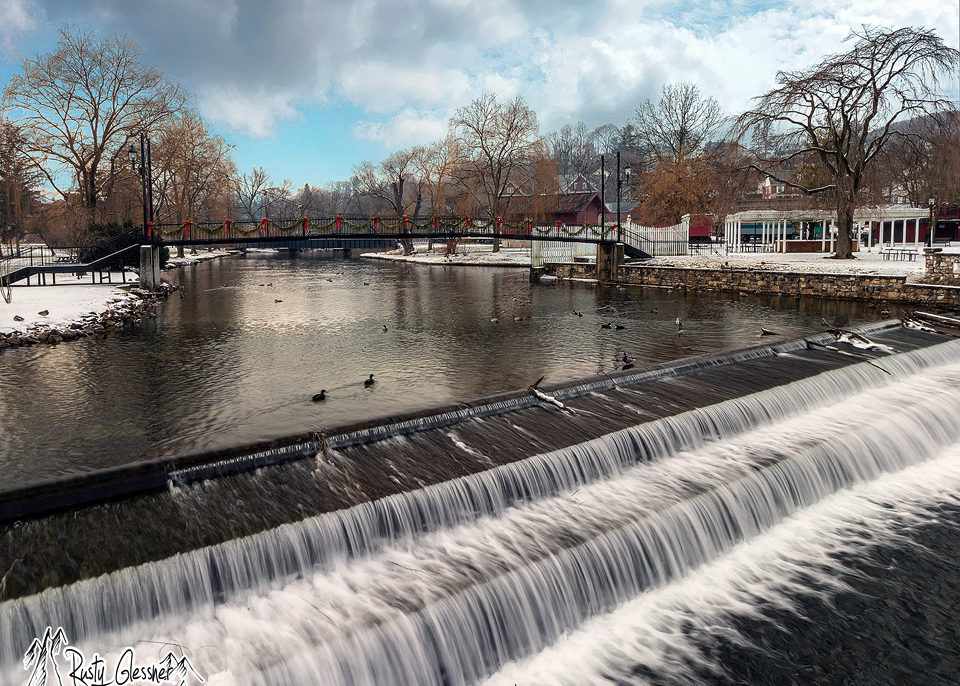 Spring Creek, Tallyrand Park, Bellefonte, PA 1.11.2017