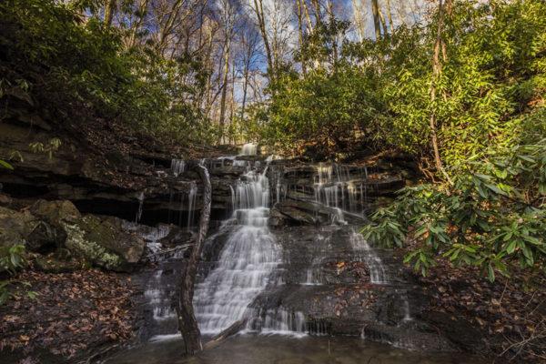 Sugar Run Falls, Ohiopyle State Park, Fayette County, PA.
