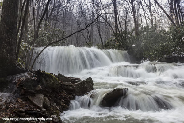 Upper Jonathan Run Falls, Ohiopyle State Park, 3.11.2015