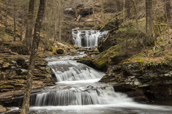 Waters Meet, Ricketts Glen State Park