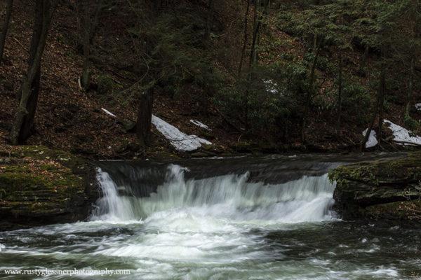 Wykoff Run Falls, Quehanna Wild Area - 4.8.2015
