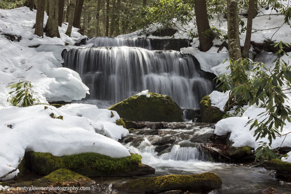 Yost Run Falls, Sproul State Forest, Centre County, PA.