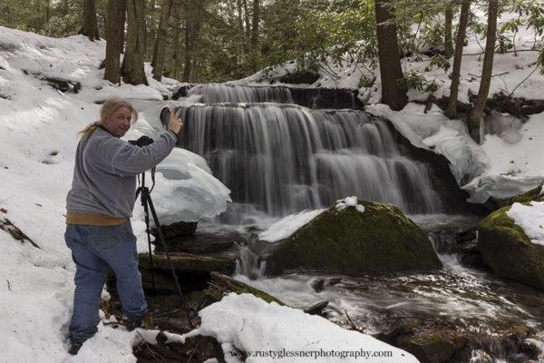 Steve Rubano at Yost Run Falls